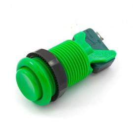 Botón Cóncavo 35mm - Verde