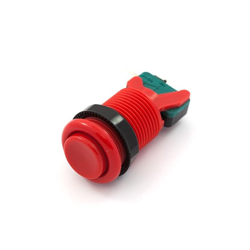 Botão de Pressão 35mm - Vermelho