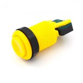 Botón Cóncavo 35mm - Amarillo