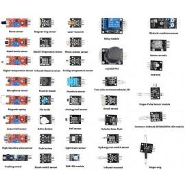 Kit 37 Módulos Sensores Para Arduino Ou Raspberry Pi