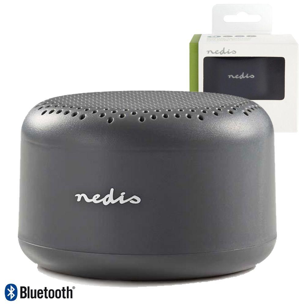 Coluna Bluetooth V4.1 Portátil 3w Cinza Nedis