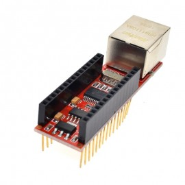ENC28J60 Ethernet Shield Nano V3.0 RJ45 Webserver Módulo For Arduino