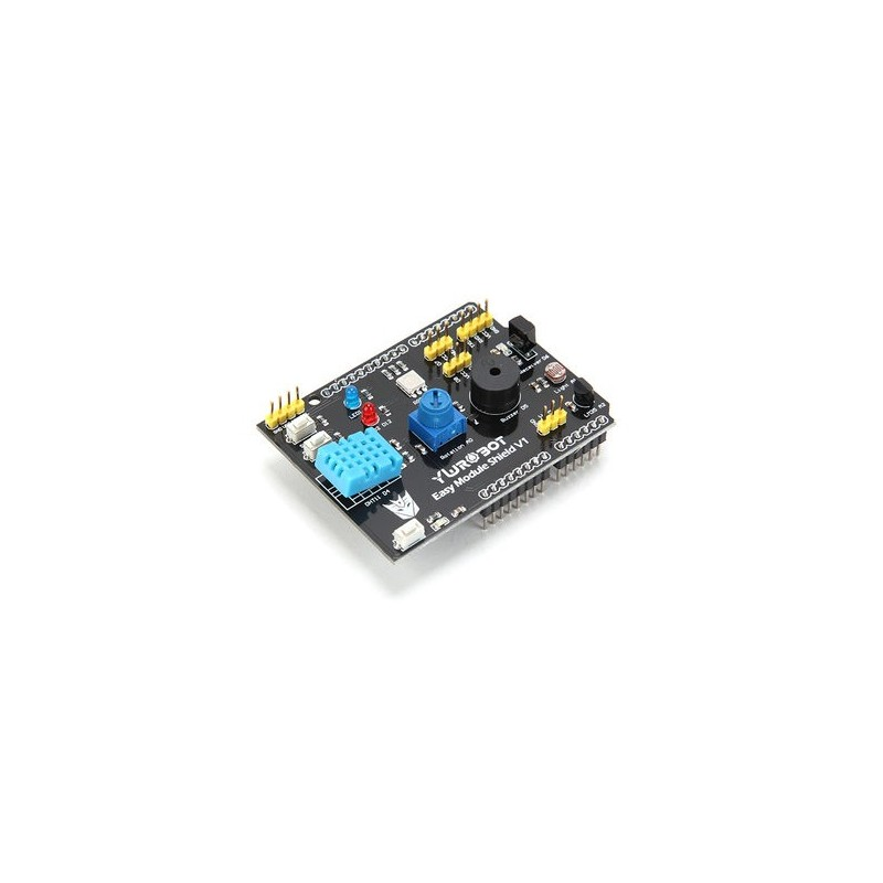 Módulo placa de extensão multifunções ywrobot para arduino