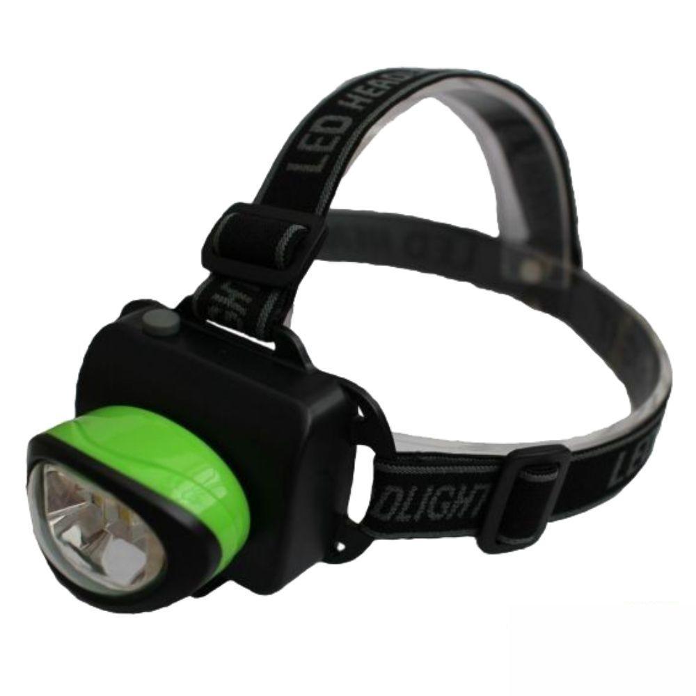 Lanterna De Cabeça C/ 6 Leds 60lm