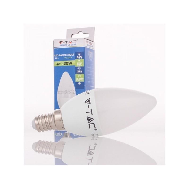 4638434d49e Las lámparas LED V-TAC E14 de la gama VELA permiten una sustitución simple  y directa de las antiguas lámparas incandescentes o economizadoras del tipo  vela ...