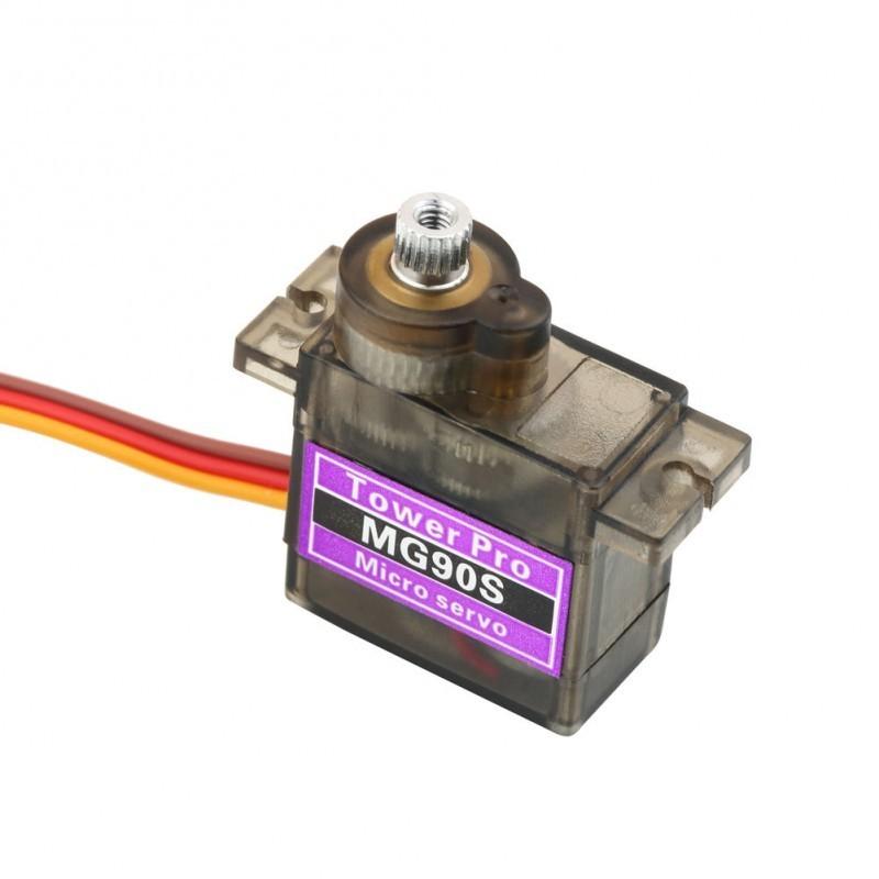 Servo Motor MG90S 360 Graus para Arduino