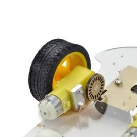 Kit Robot 2+1 Ruedas 2WD Chasis