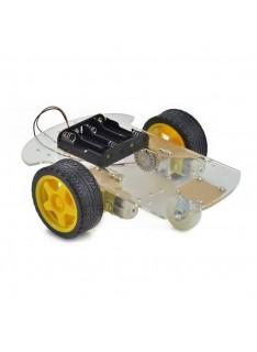 Kit Robot Arduino 2+1 Ruedas 2WD Chasis