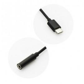 Adaptador USB Tipo C / Jack 3.5mm