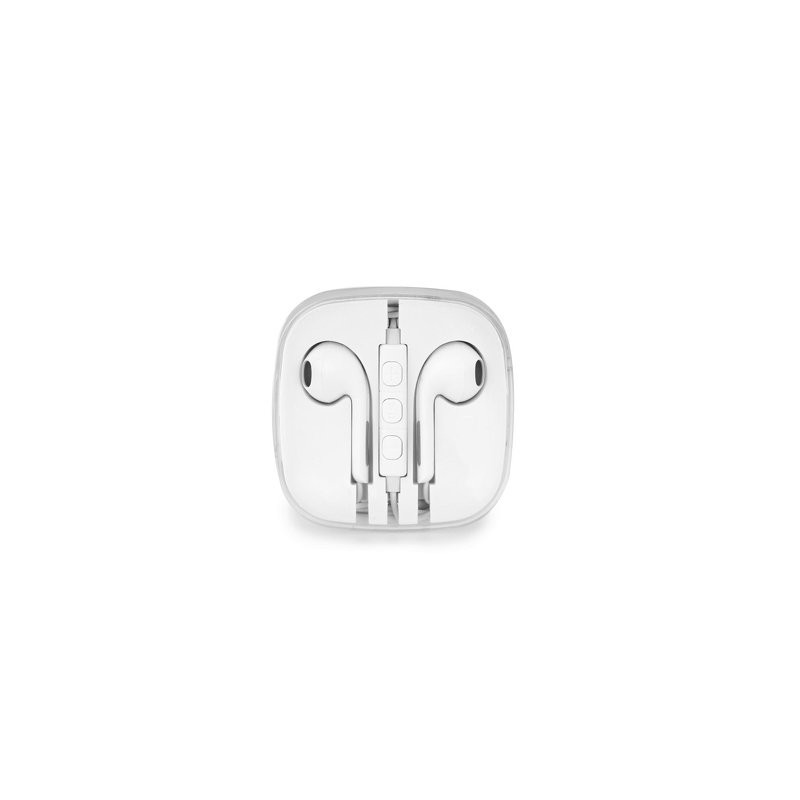 Auriculares Stereo USB Tipo-C - Brancos