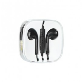 Auriculares Estéreo Jack 3.5mm para iPhone - Negro