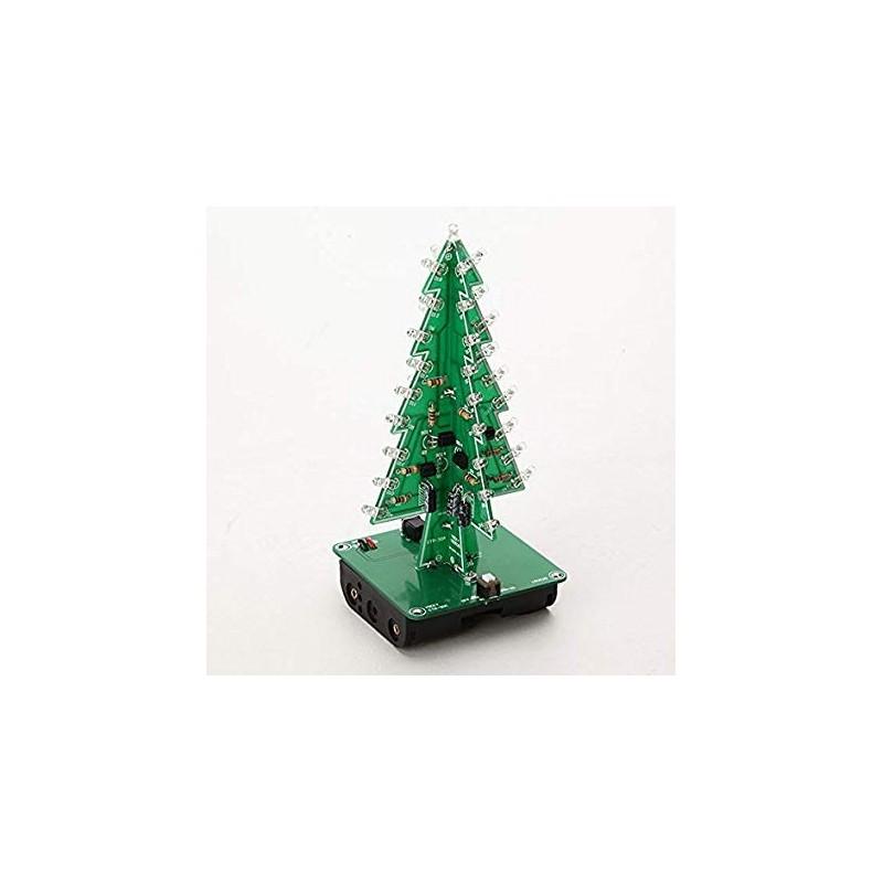 Kit DIY Árvore de Natal Pisca-Pisca 3D