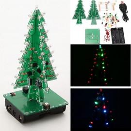 Árvore de Natal Pisca-Pisca 3D