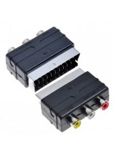 Adaptador RCA SCART