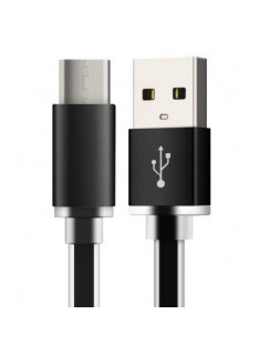 USB A to USB Type C 3.1 Cable (1M) - Black