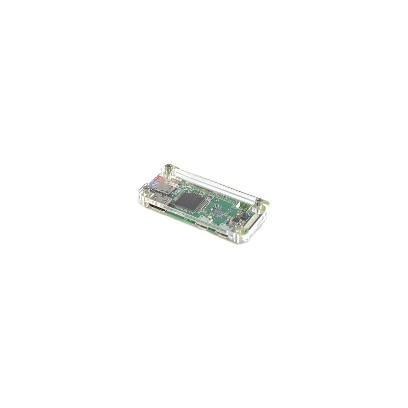 Caixa em Acrílico Transparente para Raspberry Pi Zero e Zero W