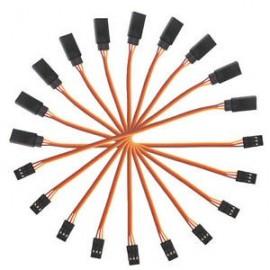 Cable de Extensión JR Macho-Hembra 15cm para Servo Motor