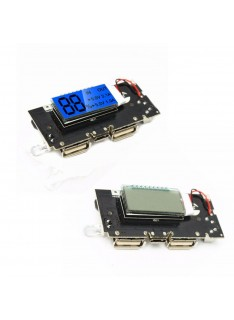 Dual USB 5V 1A Battery Charger Module for Mobile Phones