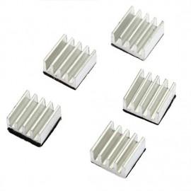 Kit de Refrigeración con 5x Disipadores de Calor en Aluminio para Impresora 3D