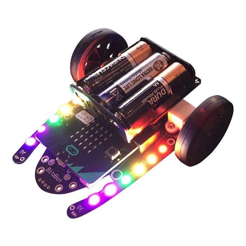 Kit de Coche Robot Bit:Bot para Micro:Bit