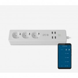 Electrical Outlet SPC Clever Power Strip