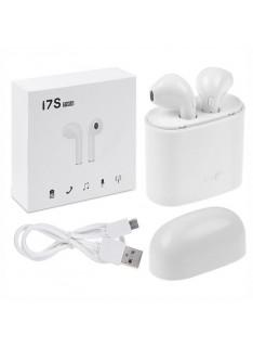 Auriculares Bluetooth V4.2 com Dock de Carga TWS