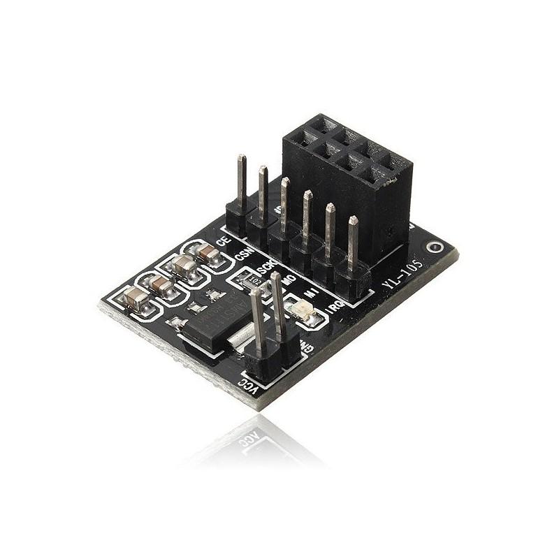 Tarjeta Adaptadora para Módulo Wireless NRF24L01+