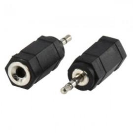 Ficha Adaptador Jack 2.5mm Macho para Jack 3.5mm Hembra ST