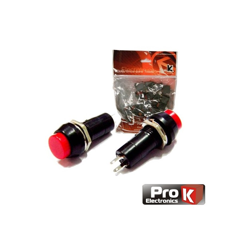 Paquete de 25 Interruptores de Presión Generalmente Abiertos - ProK