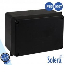 Caixa de Passagem Estanque IP65 IK07 Preta