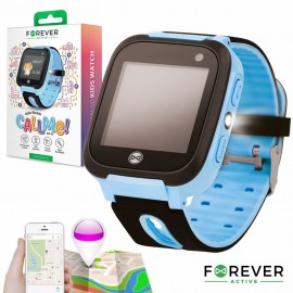 Relógio Segurança Gprs Lbs SIM Criança Azul