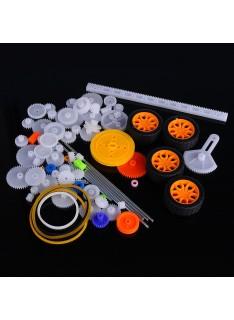 Pack de Ruedas Dentadas de Plástico para Robótica