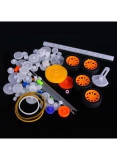Plastic Toothed Wheel Pack for Robotics