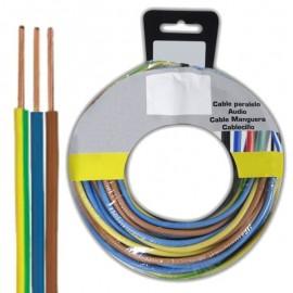 Cable Eléctrico 3x1.5mm² Multicolor de 5m