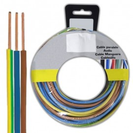 Electric Cable 3x1.5mm² Multicolor of 5m
