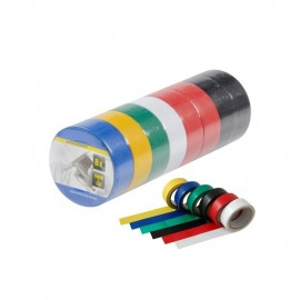Set of 8 Multicolor Insulating Tape Rollers