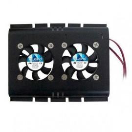 Ventilador de Disco Rígido Duplo de 4 Pinos