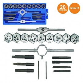 Set of 20 M3-M12 Parts to Open Thread