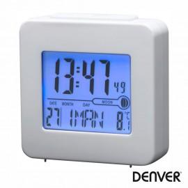 Relógio Despertador Branco - Denver