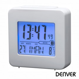 Reloj Despertador Blanco - Denver