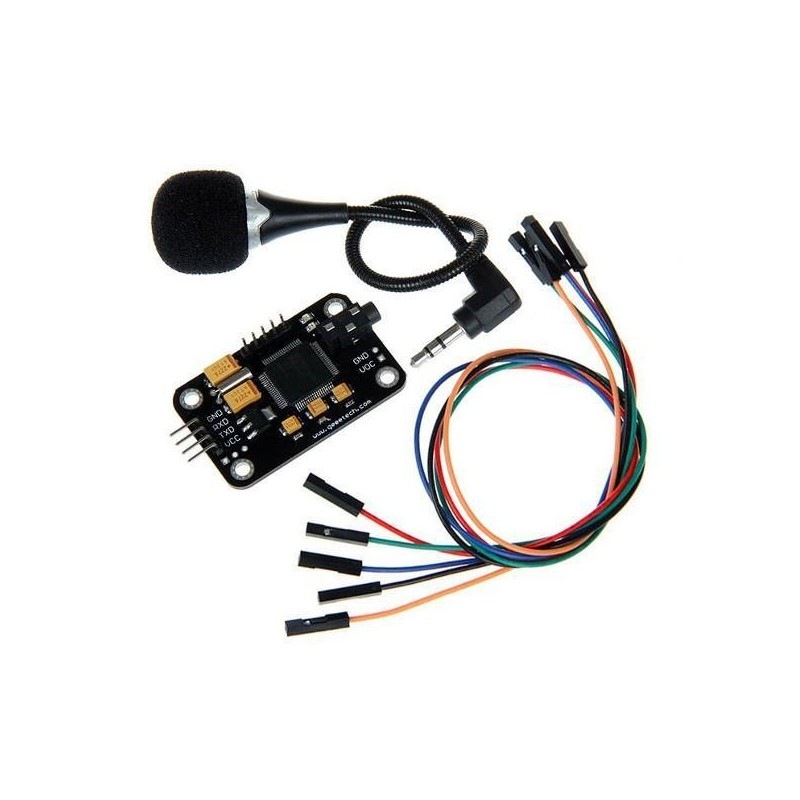 Módulo de Reconhecimento de Voz com Microfone para Arduino