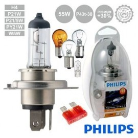 Kit Car Light Bulbs 12V H4 P43T-38 60/55W