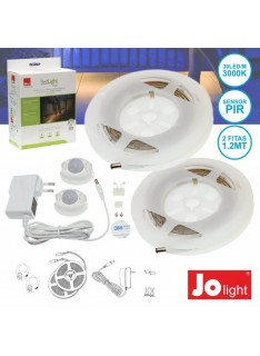 Kit Fita de LEDs com Sensores e Alimentador
