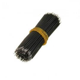 Conjunto de 200 Cables Jumper Estancados Negros para Breadboard