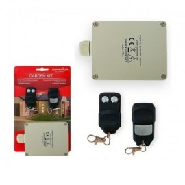Transmitter and Receiver Kit with 2 Channels and 2 Commands to Garden
