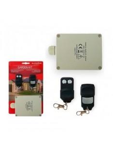 Kit Emissor e Receptor de 2 Canais e 2 Comandos para Jardim