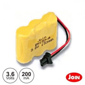 Batería NI-CD N 3.6V 200mA