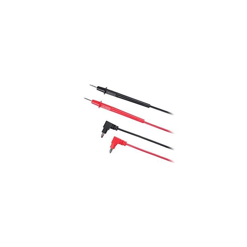 Conjunto de Puntas de Prueba para Multímetros con Cable de 830mm