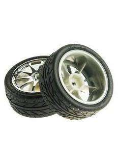 Kit 2 Silver Wheels
