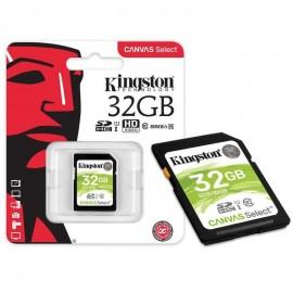 Tarjeta de Memoria SDHC UHS-I 32GB Clase 10 - Kingston
